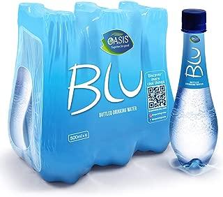 Blu Plain Still Water, 500 ml (Pack of 24)