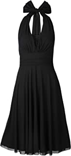 Best cocktail dresses halter neck Reviews