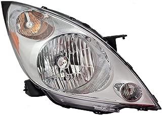 Passengers Headlight Headlamp Lens Replacement for Chevrolet 95281469 AutoAndArt