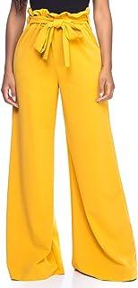 Women's Junior Plus J2 Love Paperbag Wide Leg Pants