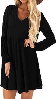 vestito da donna a maniche corte con scollo rotondo Essentials