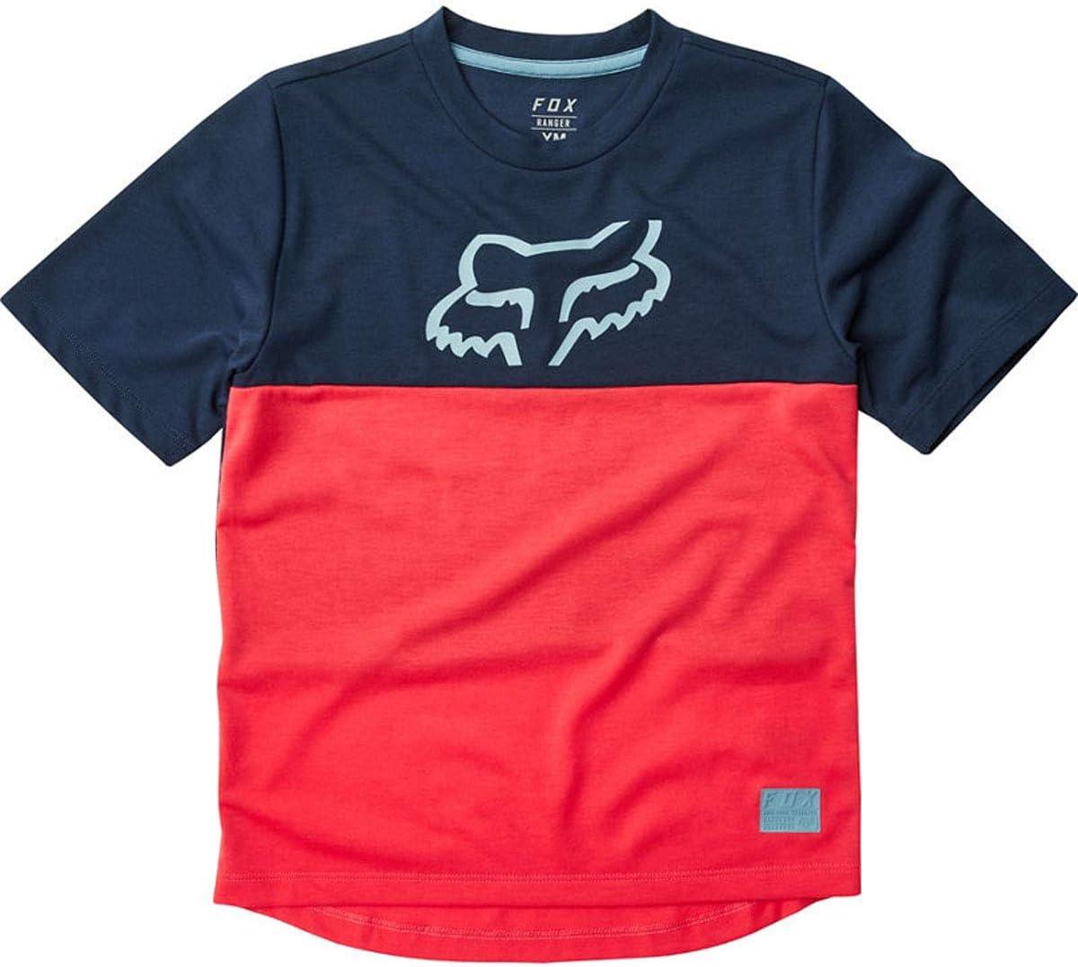Bright Red Fox Youth Ranger Drirelease MTB Jersey 22946-179
