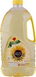Uncle J's Sunflower Oil, 1.8 Litres