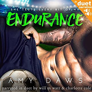 Endurance                   Auteur(s):                                                                                                                                 Amy Daws                               Narrateur(s):                                                                                                                                 Will M. Watt,                                                                                        Charlotte Cole                      Durée: 9 h et 36 min     1 évaluation     Au global 5,0