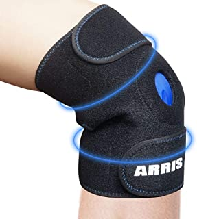 ARRIS Ice Pack for Knee Injuries, Reusable Hot Cold Therapy Knee Wrap Ice Knee Brace for Joint Pain, Bursitis Arthritis Kn...