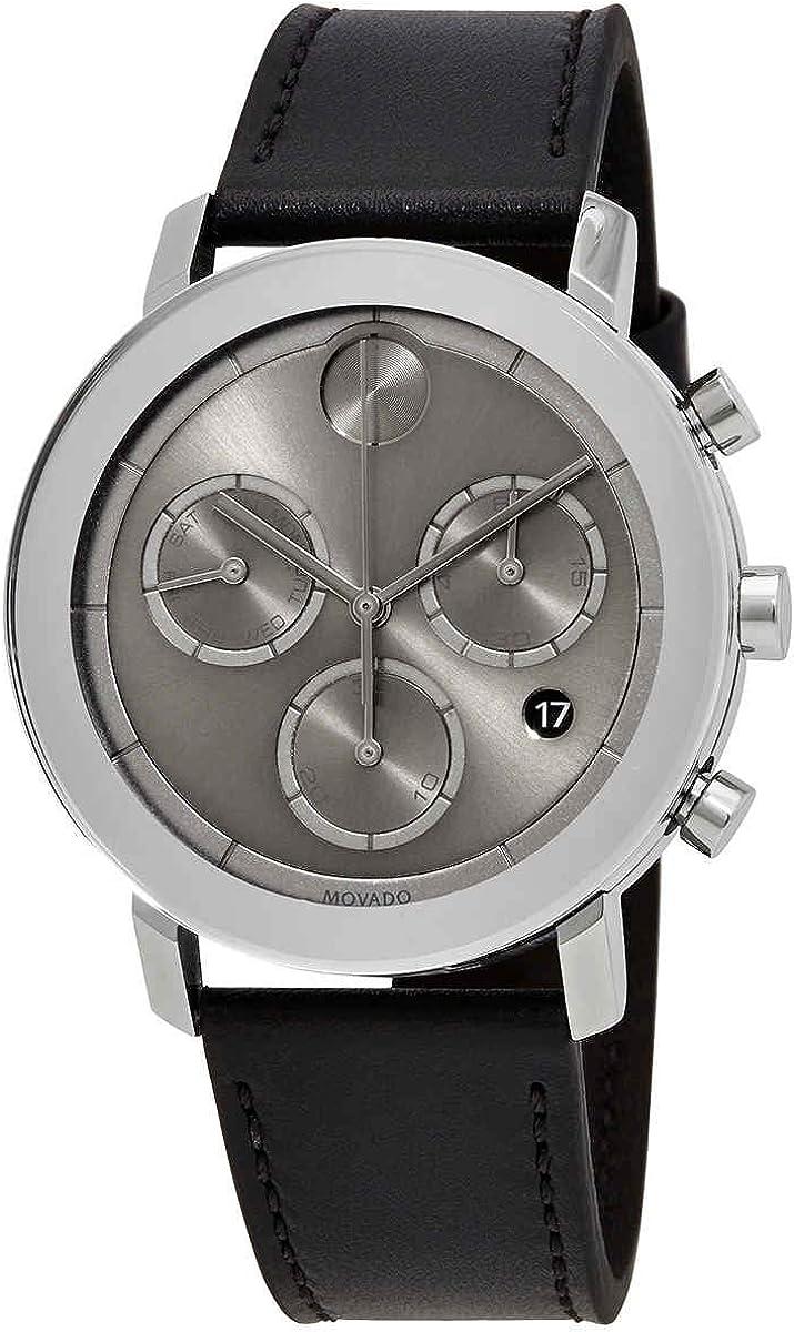 Credence Movado Bold Evolution Chronograph Quartz Dial Watch High quality new 3 Grey Men's
