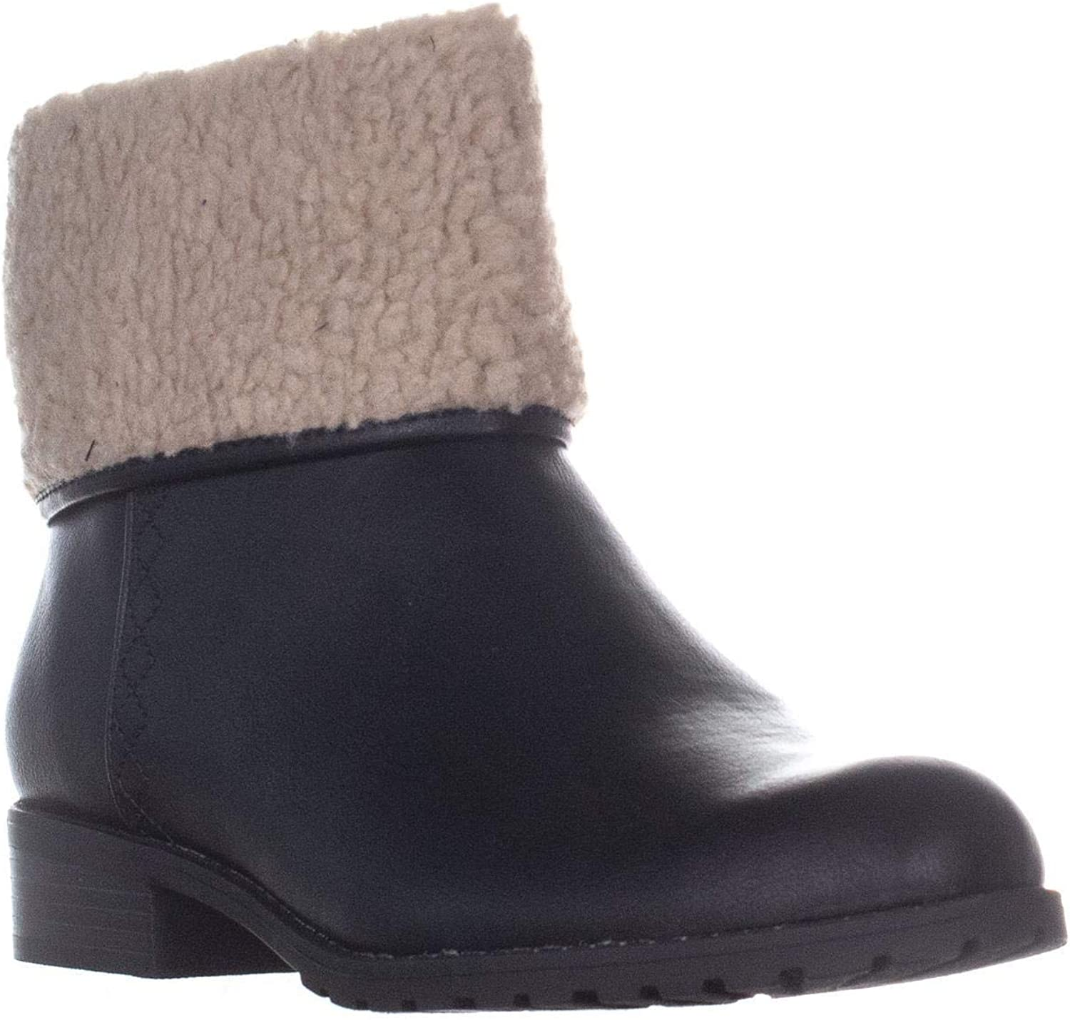 Style & Co. SC35 Bettey Ankle Boots, Black
