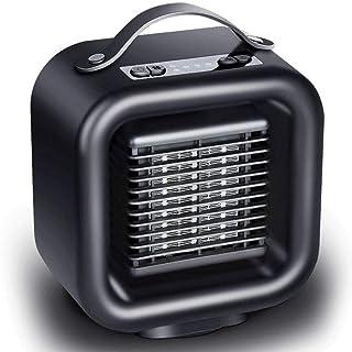 HKDJ-Portátil Espacio Calefactor Cerámico con Oscilación Silenciosa,Operación Simple,Protección contra Sobrecalentamiento E Inclinación para El Hogar Y La Oficina