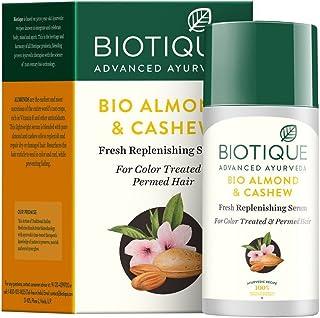 Biotique Bio Almond and Cashew Fresh Replenishing Hair Serum, 40ml