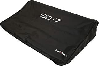 Allen & Heath AP-11334 Dust Cover For use with SQ-7 48 Channel/36 Bus Digital Mixer, Top Condition with Our Fitted Black, Water Repellent Dust Cover in Polyester, Screen Printed Logo