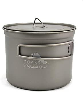 TOAKS Titanium 900ml Pot with 115mm Diameter