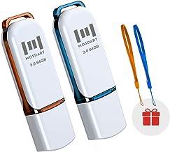 64GB USB 3.0 Flash Drive 2 Pack Jump Drive 64 GB High...