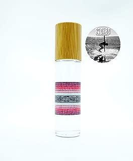 Stoked Rollie JUICY Scent Body Oil ~ handmade, roll-on perfume, phthalate free, alcohol free, moisturizing, surfer girl, boho, beach, vegan