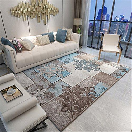 Ommda tappeti Salotto Soggiorno Moderni Home Stampa 3D tappeti Soggiorno Pelo Corto Antiscivolo Lavabili Multicolore 80x120cm 9mm