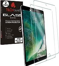 TECHGEAR [2 Stück Panzerglas für Apple iPad Air 10,5 Zoll (Air 3, 2019) iPad Pro 10,5 Zoll - Panzerglasfolie Anti-Kratzer Schutzabdeckung kompatibel mit Apple iPad Pro 10,5 / iPad Air 2019 (10,5)