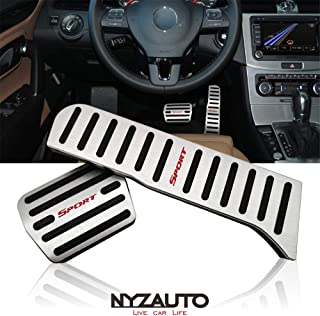 NYZAUTO Non-Slip Foot Pedal Pads Compatible for...