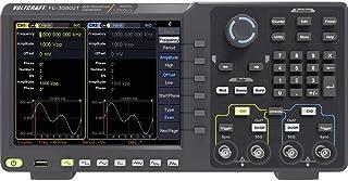 VOLTCRAFT FG-30802T Funktionsgenerator nätdriven 1 µHz - 80 MHz 2 kanaler Arbiträr, Brus (value.1376413), Puls, Fyrkant