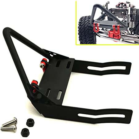 Anti-Collision Pillars for RC Car Front and Rear Bumper Keenso Bumper Fixed Column for SCX10 1//10 Car