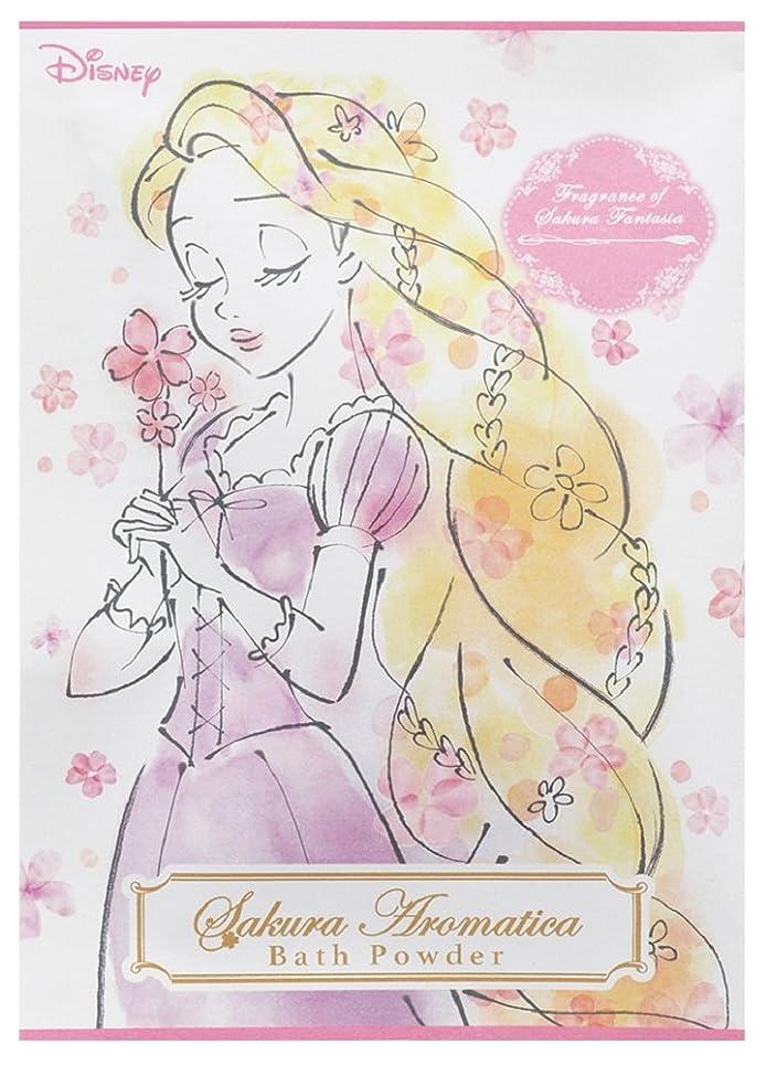 秀でる暖炉レプリカディズニー 入浴剤 バスパウダー ラプンツェル サクラアロマティカ 桜の香り 40g DIT-5-02