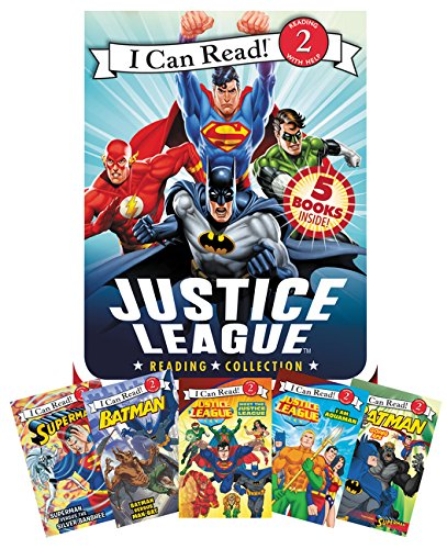 Product Image of the Justice League Reading Collection: 5 I Can Read Books Inside! (I Can Read Level...