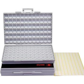 Sistema de Almacenamiento de 20 cajones para electr/ónica y componentes A9-520 BeMatik