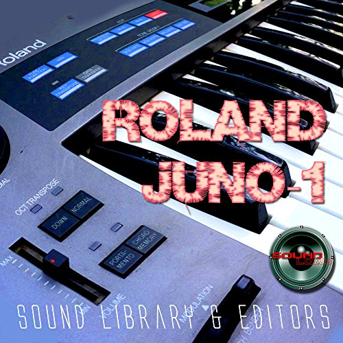 Save %57 Now! ROLAND Juno-1 Huge Original Factory & new Created Sound Library & Editors on CD or dow...