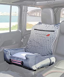 """PetBed2GO, DODGE, GREY Pet Bed Cushion & Car Seat Cover, 26x20x6"""", 3.5 lbs"""