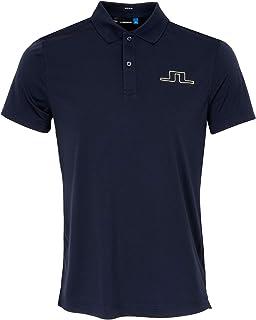 Homme Tour Tech TX en Jersey J.Lindeberg JL Polo Bleu Marine//Violet