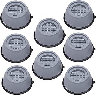 GZhaimai 8 Pcs Patin Anti Vibration, Générique Anti Vibration Machine a Laver, pour Lave-Linge Réfrigérateur et Gros élect...