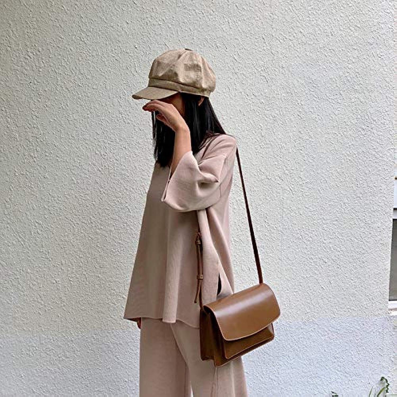 WANGZHAO Single Shoulder Bag, Female Bag, Satchel, Joker, Lady, Simple Fashion, Retro,D