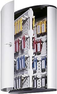 Durable 195523 Keybox Armoire pour 72 Clés Fermeture par Serrure à Clés - Avec 6 Porte-clés KEY CLIP