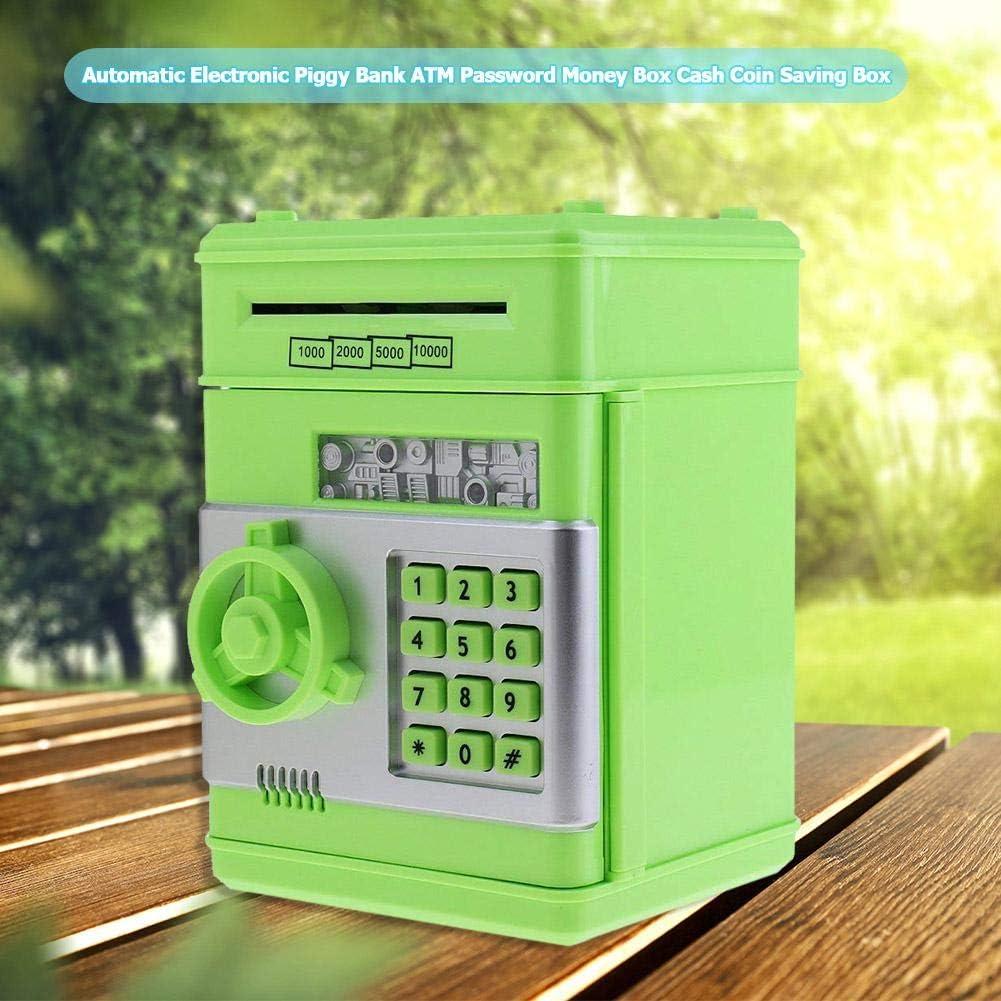 Everpert Huchas Originales 2 Hucha Electr/ónica Caja de Seguridad de Dep/ósito Autom/ático de Ahorro de Dinero Regalos de Juguete para Ni/ños