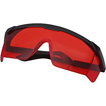 HDE UV Laser Eye Protection Safety Glasses w/Case