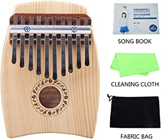 MG.QING 10 Key Kalimba C Tone Thumb Piano Spruce Finger Musical Instrument Beginner Student