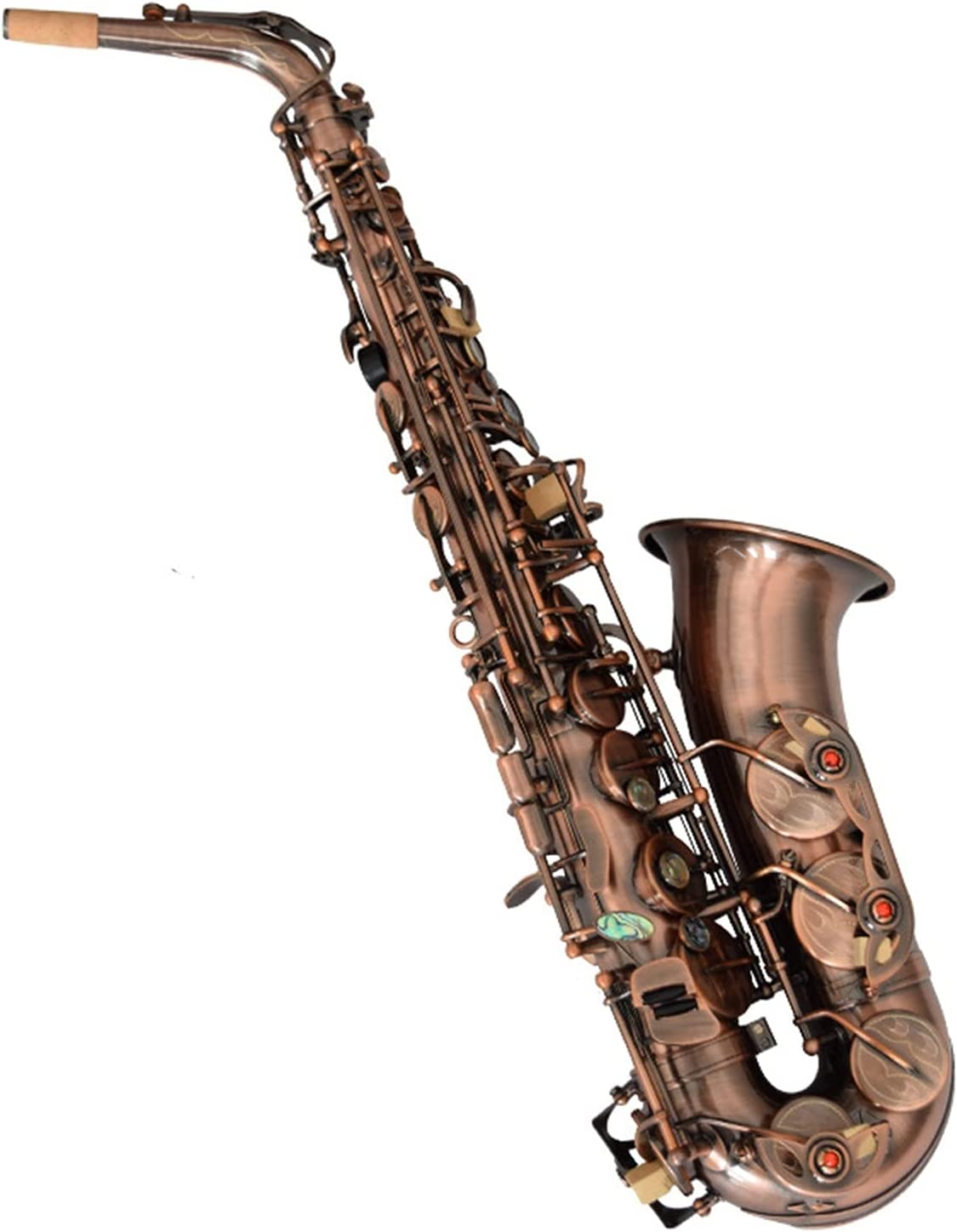 Philadelphia Mall Saxophone Set Red Antique Alto E for in Flat Beginners Ranking TOP8
