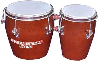 インド古典楽器シャルマ楽器店木製ボンゴ
