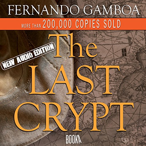 The Last Crypt audiobook cover art