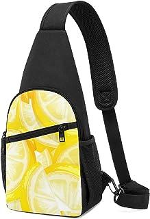 PGTry Close Up Yellow Limón Plantilla, mochila ligera para el hombro, mochila cruzada, bolsas de viaje, senderismo, para h...