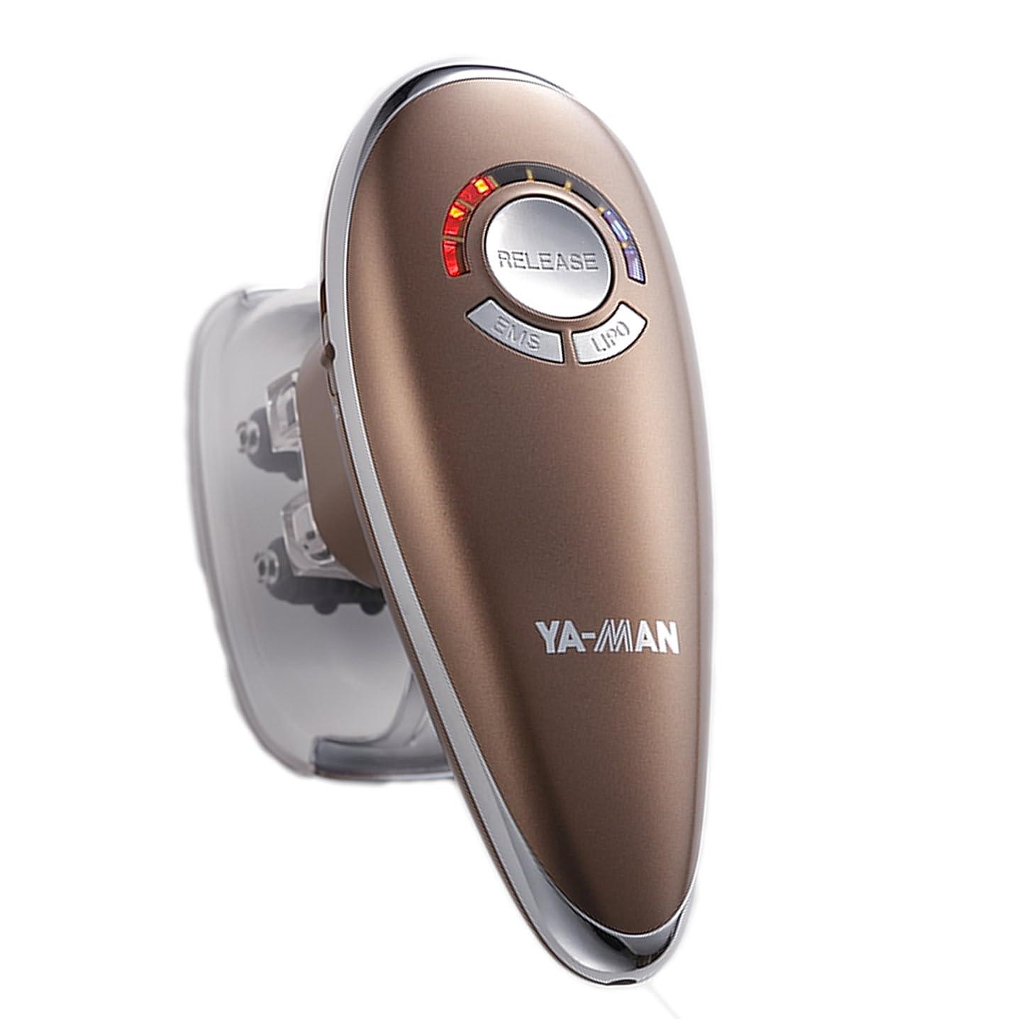 取り出す威信スペクトラムYA-MAN(ヤーマン) ダイエット アセチノリポボディスリムEX ブロンズ セルライト マッサージ ボディ バスト IB30T