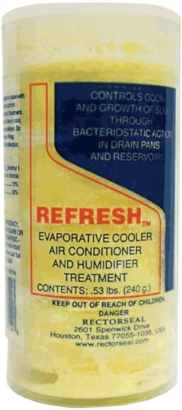 Rectorseal 68112 Refresh Evaporative Cooler, A/C Humidifier Tablets-275 Tablets Pail