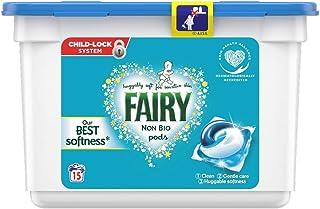 Fairy Non Bio Pods Washing Liquid Capsules, Pack of 15