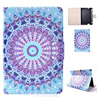 Case Fit Kindle Fire HDX7, FlipBird Flower Series Folio Stand Leather Cute Design Smart Cover with Auto Wake/Sleep Function for Girly Women Case for Amazon Kindle Fire HDX 7 2013 Version