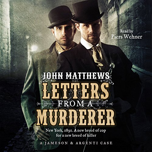Letters from a Murderer audiobook cover art