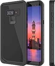 PunkCase Galaxy Note 9 Waterproof Case [StudStar Series] [Slim Fit] [IP68 Certified] [Shockproof] [Dirtproof] [Snowproof] Armor Cover Compatible with Samsung Galaxy Note 9 [Black]