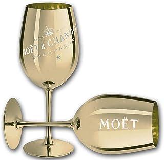 Moët & Chandon Moet & Chandon Imperial Champagner Echtglas Ibiza Gold, 1 Glas