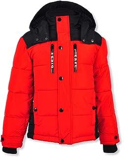 diesel jacket red