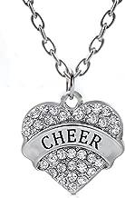Godyce Sister Mom Dance Best Friend Heart Pendant Necklace Women Girl Stainless Steel Chain