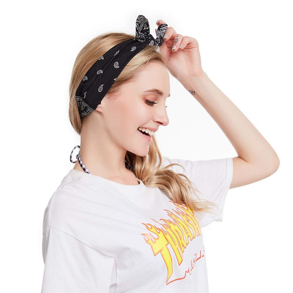 Women's Headbands Wide Hairband Headwraps Hair Bands Bows Hair Accessories