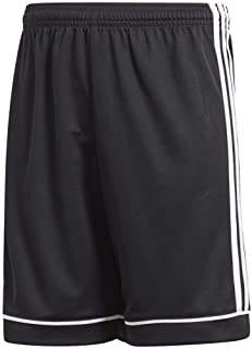 adidas boys Squadra 17 AEROREADY Regular Fit Quarter Length Soccer Shorts