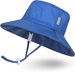 Ami&Li tots Super Lightweight Child Adjustable Ultrathin Sunhat for Baby Girl Boy Kids Toddler UPF 50